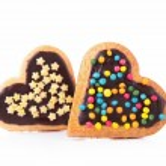 Heart shape cookie — Stock Photo #35325349