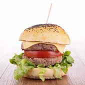 Leckere burger — Stockfoto