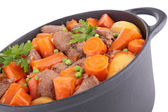 Casserole with vegetable and meat — Stock Photo