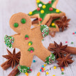 Gingerbread cookie — Stock Photo #36044645