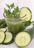 Cucumber juice — Stock Photo