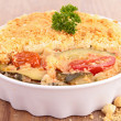 Stock Photo: Vegetable crumble