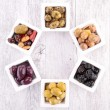 Assortment of olives — Stock Photo