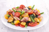 Legumes cozidos — Fotografia Stock
