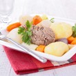 Beef stew and vegetable — Stock Photo