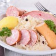 Plate of sauerkraut — Foto Stock
