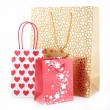 Shopping bag isolated — Stock Photo