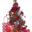 Christmas tree and decoration — Foto de Stock