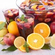 Fruit sangria, punch — Stock Photo #36731635