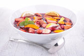 Fruit sangria, punch — Stockfoto