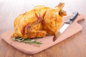 Roasted chicken — Stock Photo