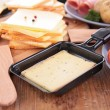 Raclette cheese and ingredient — Stock Photo #37106859