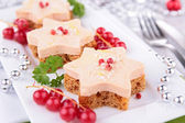Festive appetizer — Stock Photo
