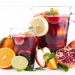 Stock Photo: Fruit punch, sangria