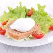 Poached egg — Stock Photo #38028627