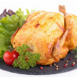 Roast chicken — Stock Photo #38028751