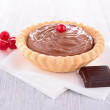 Stock Photo: Chocolate pastry