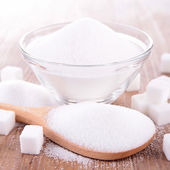 White sugar — Stock Photo