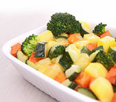 Vegetable gratin — Stock Photo