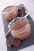 çikolata kremalı tatlı — Stok fotoğraf