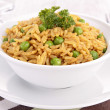 Stock Photo: Risotto, rice and pea