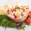 Rice salad — Stock Photo