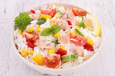 Rice salad — Stock Photo