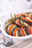 Vegetable baked tian — Stock Photo