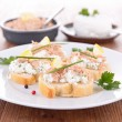 Stock Photo: Canape