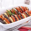 Stock Photo: Baked vegetables