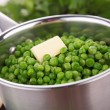 Stock Photo: Casserole with pea