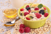 Muesli and berry — Stock Photo