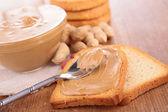 Peanut butter — Stock Photo