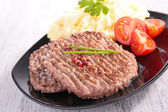 Grilled beefsteak — Stock Photo