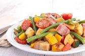 Fried vegetables — Zdjęcie stockowe
