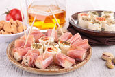 Appetizer, buffet food — Stock Photo