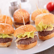 Hamburgers — Stock Photo