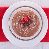 Chocolate cream, mousse — Stockfoto