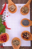 Various of spices — Stock Photo
