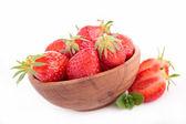 イチゴのボウル — ストック写真