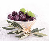 Fresh olive — Stock Photo