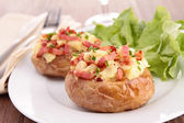 Baked potato — Foto Stock