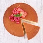 おいしいチーズケーキ — ストック写真
