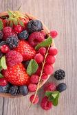 Assortment of berry — Stock Photo