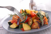 Ratatouille,cooked vegteables — Stock Photo