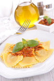 Tasty ravioli — Stock Photo