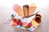 冰激淋 — 图库照片