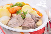 Beef stew and vegetables — Foto de Stock
