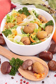 Mixed salad — Foto de Stock