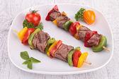 Beef kebab — Stock Photo